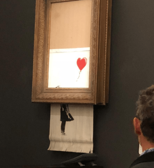 Banksy Proves Art Is Only As Valuable As the Rich Make It
