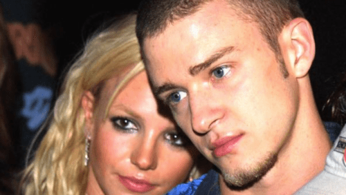 Justin britney cheat who did with on Britney Spears