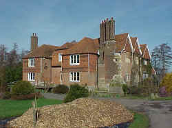 Badselle Manor in Brenchley, Kent; March 2000