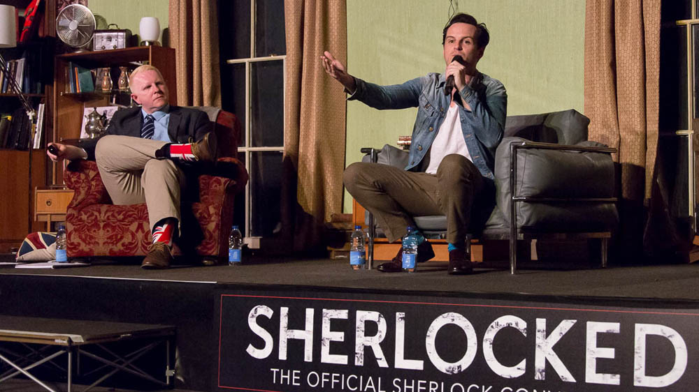 Sherlocked Andrew Scott
