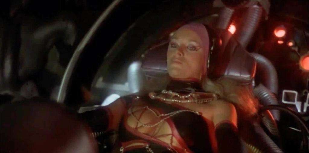 Sybil Danning in Battle Beyond The Stars