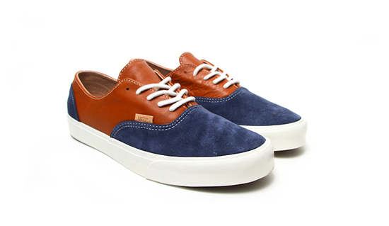 Vans Era Decon CA Dress Blues/Leather Brown