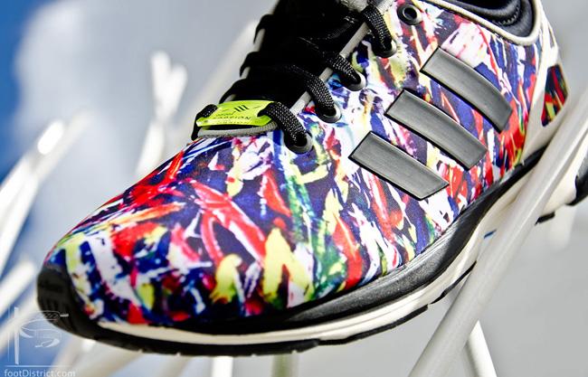 adidas Originals ZX Flux Tech NPS Confetti | Cult Edge