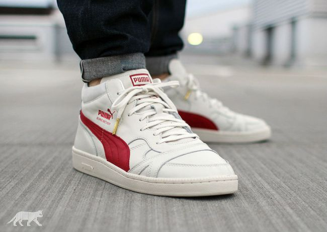 puma becker leather og whisper white