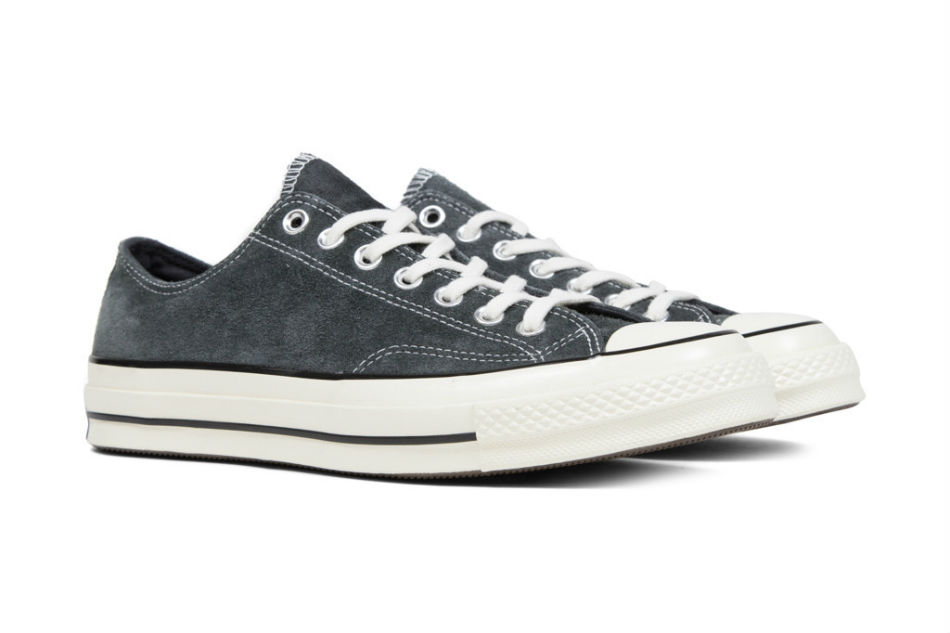 Converse Chuck Taylor All Star '70 Ox Suede CharcoalBlack