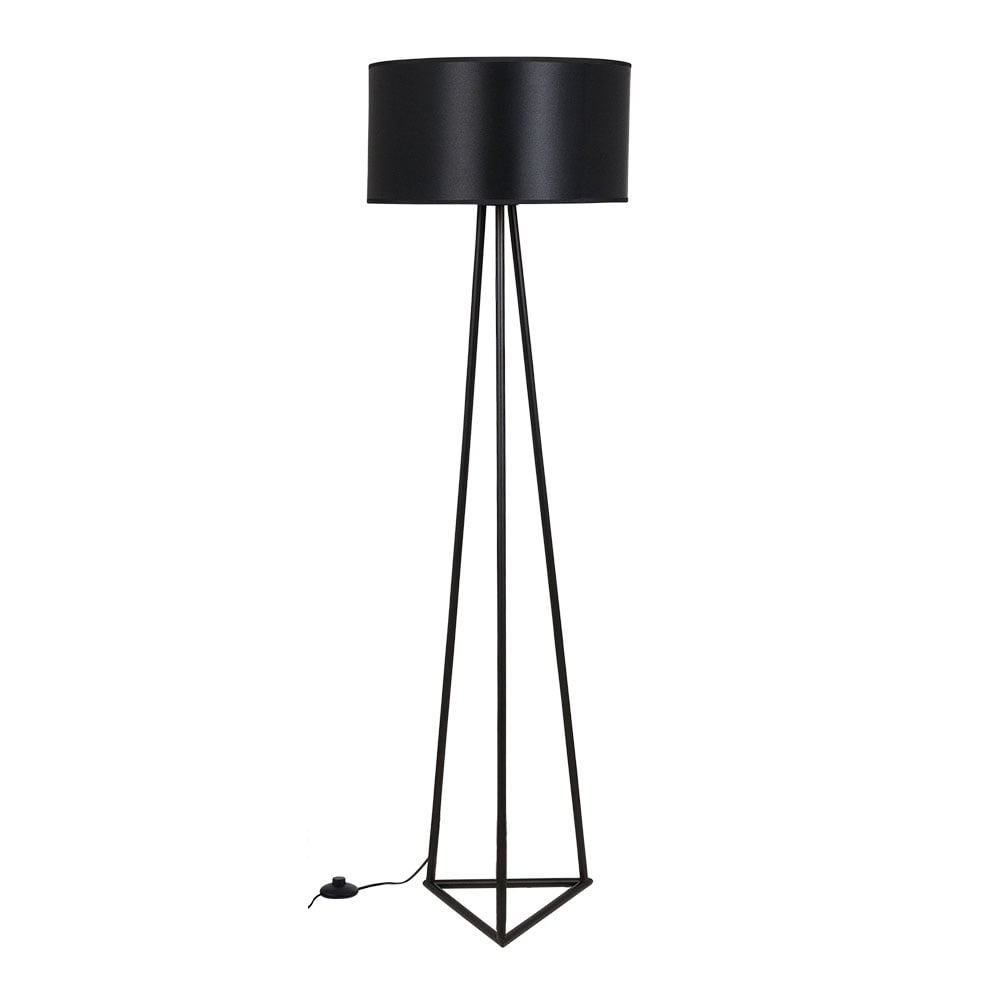Black Orion Metal Floor Lamp Modern Floor Lighting