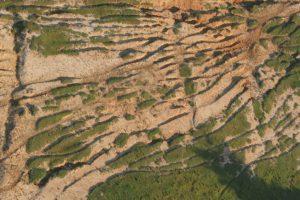 Erosão avançada em Piracicaba.