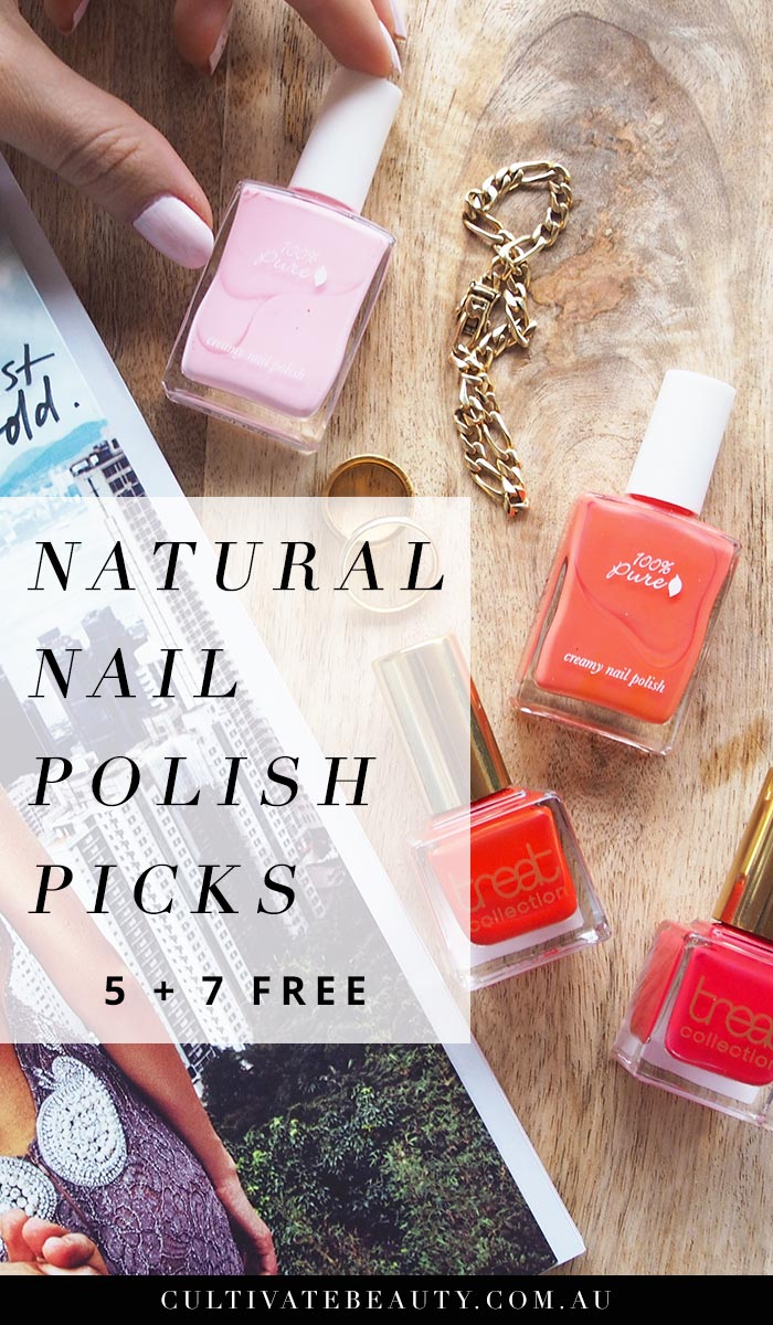 Natural Nail Polish Picks - 100% Pure + Treat Collection - Cultivate ...