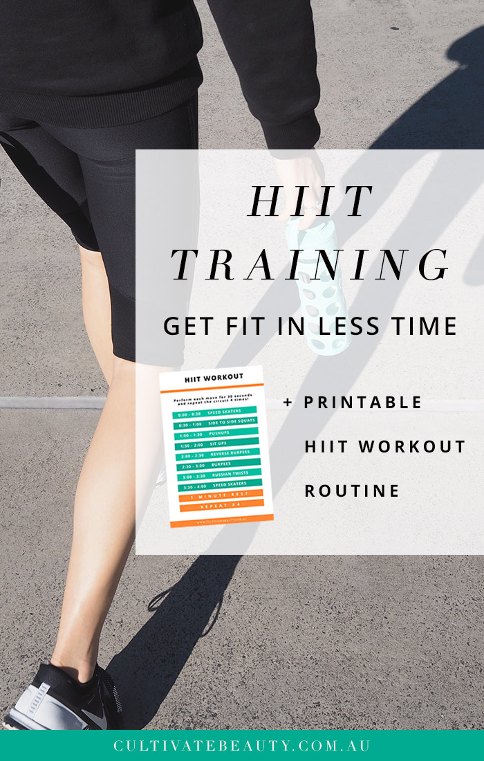 graphic about Printable Hiit Workouts titled HIIT Exercises: Get hold of Fitter in just Fewer Period (+ HIIT Work out