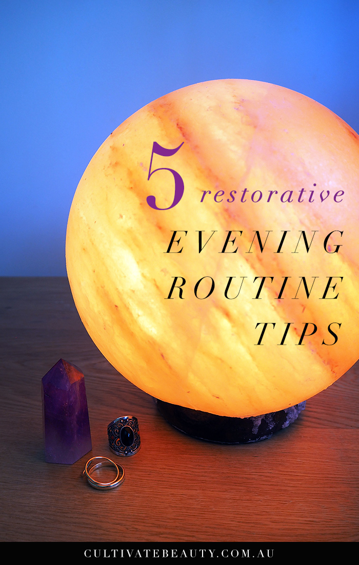 Restorative-evening-routine-tips
