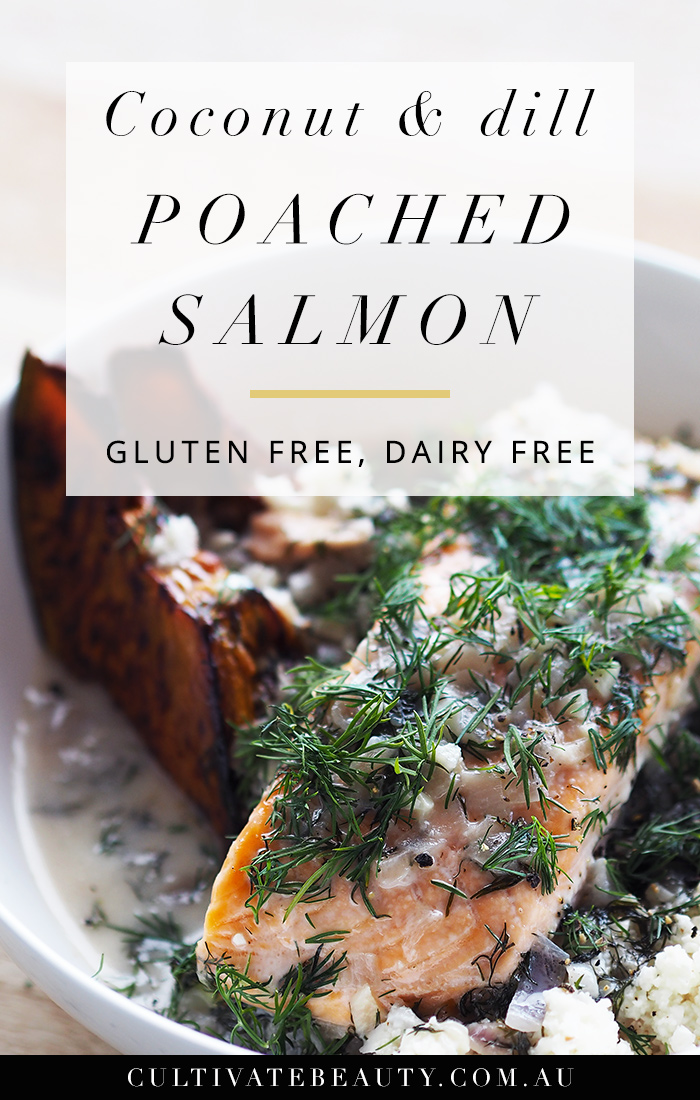poached salmon paleo recipe