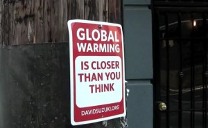 Global warming is closer than you think.