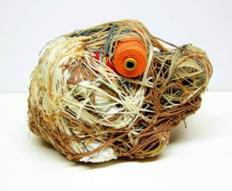 Judith Scott sculpture yarn textile