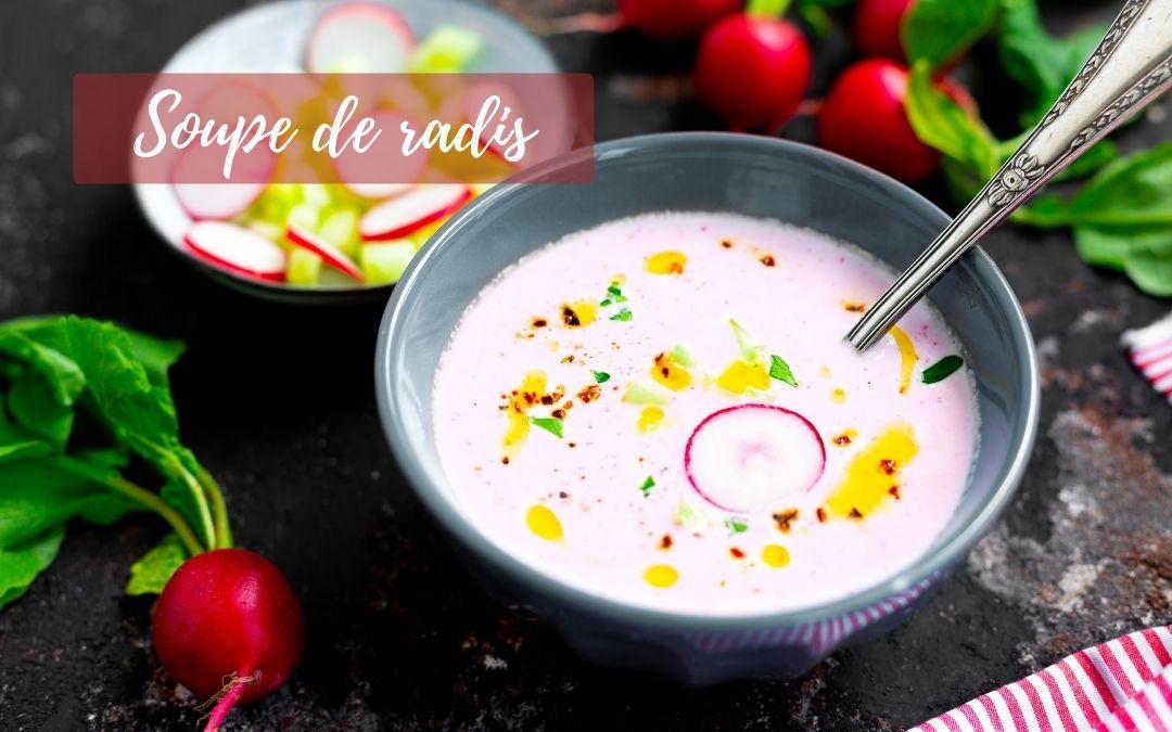 Recette soupe de radis
