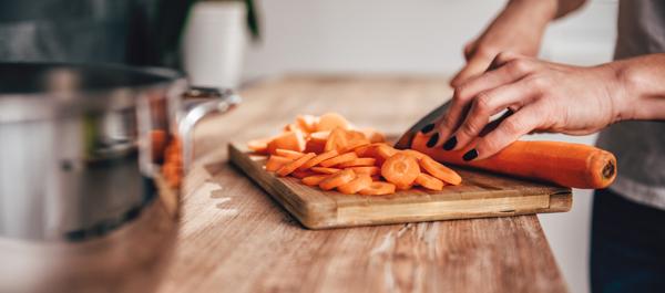 Préparation carotte vichy