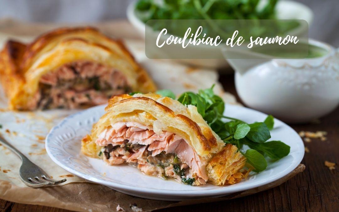 Recette coulibiac de saumon