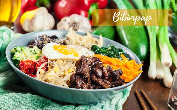 Bibimpap coréen : la recette