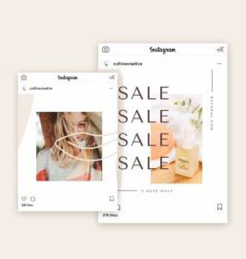 Natural Instagram Collage Template