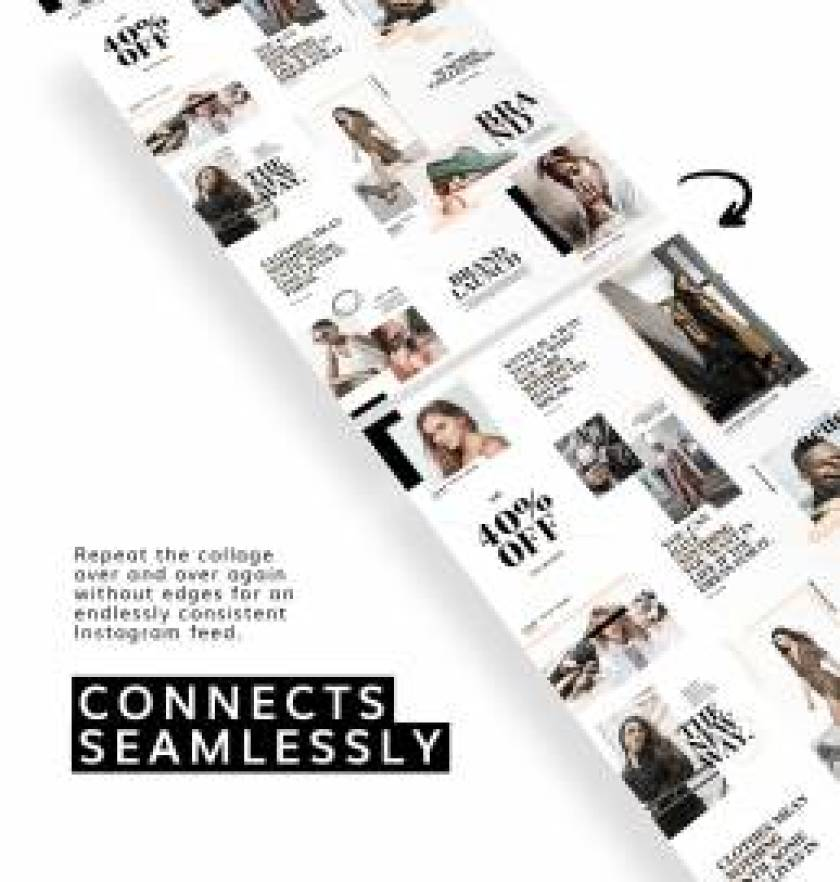 Style Instagram Collage Template