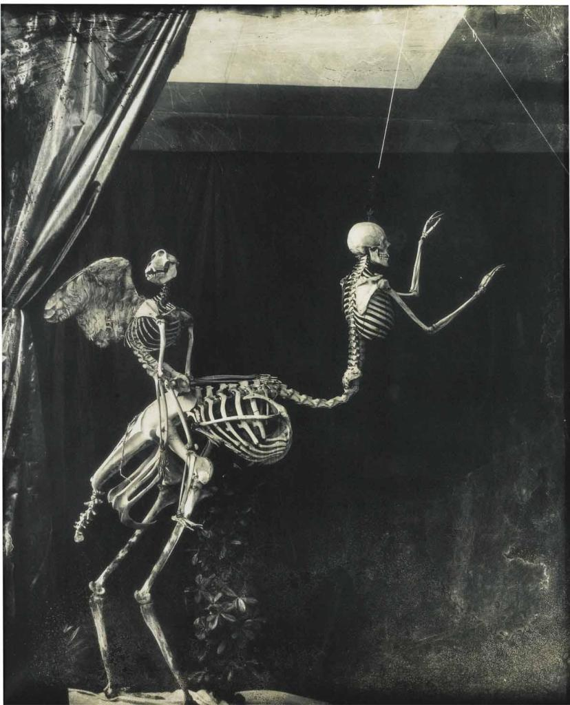 Joel-Peter Witkin, Cupid and Centaur in the Museum of Love, 1992. © Joel-Peter Witkin.