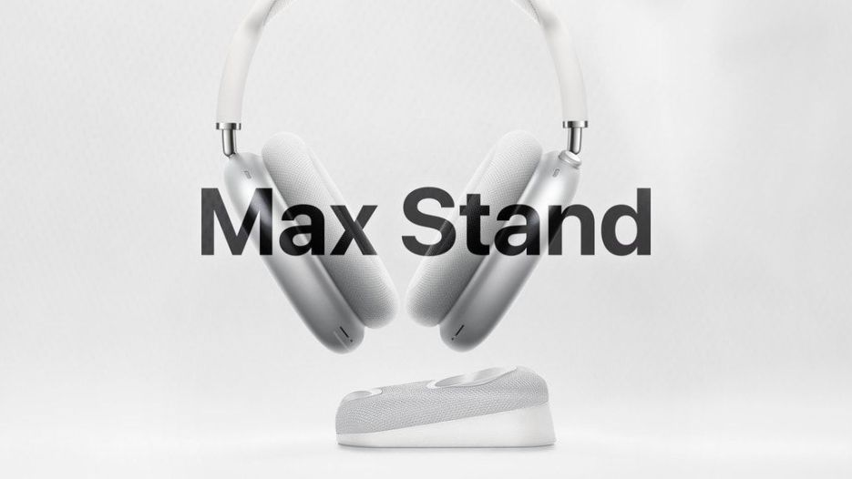 AirPods Max and Max Stand go great together.