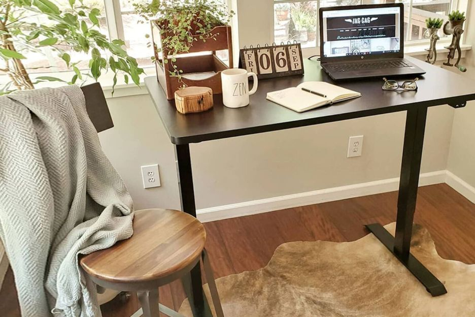 This standing desk is one easy to step in enhancing productivity in 2021