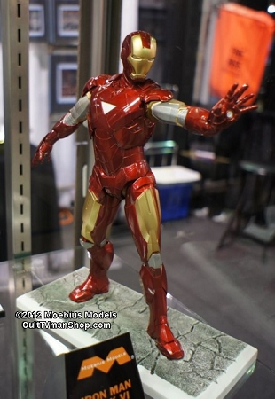 Iron Man Mk VI 18 Scale From Moebius Models