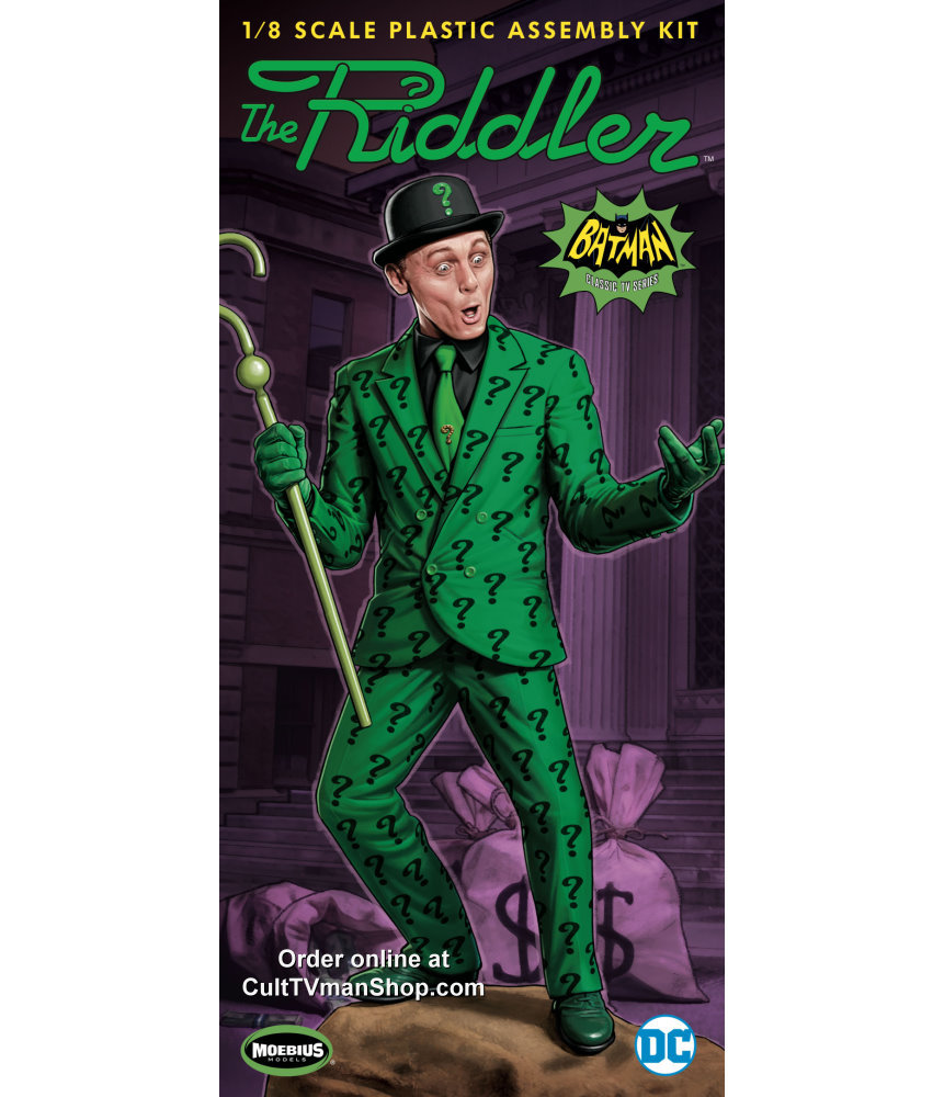 The Riddler 1966 From Moebius Models