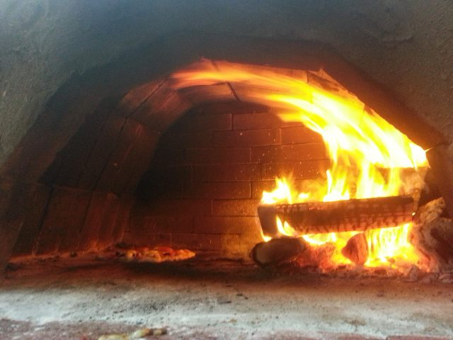 Time banking a pizza oven