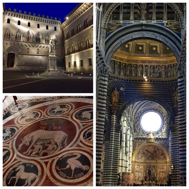 Siena's cathedral and marbled floor
