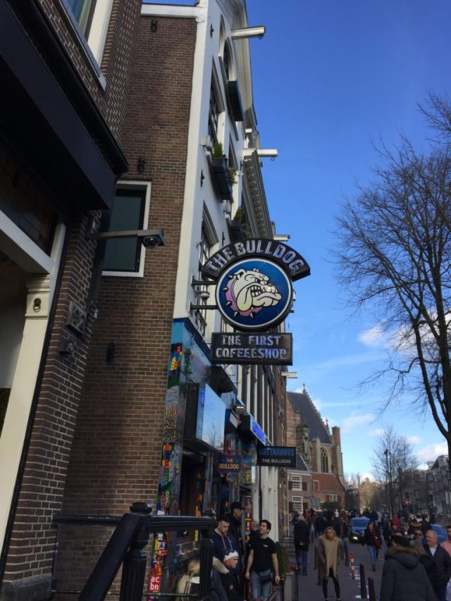 The Bulldog Coffeeshop, Red Light District, Amsterdam