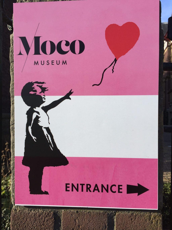 Moco Museum, Banksy, Amsterdam