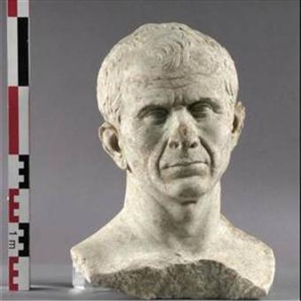 El busto del supuesto Cesar