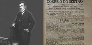 TEOTÔNIO MARQUES DOURADO FILHO/PUBLICAÇÃO CORREIO DO SERTÃO: Personagem lendário da história de emancipação de Irecê - IMAGENS: Arquivo Kel Dourado