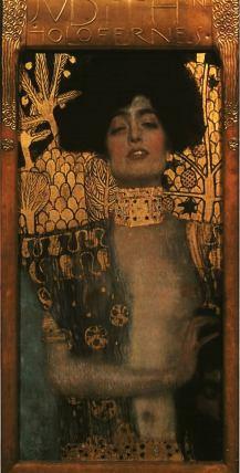 Judith con la cabeza de Holofernes. 1901. Gustav Klimt.