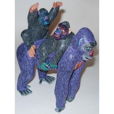 Eleazar Morales Eleazar Morales: Gorilla Family African Animals