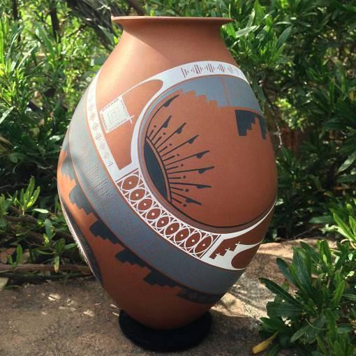 Aide Gonzalez Aide Gonzalez Exclusive Brown Masterpiece Mata Ortiz Pottery