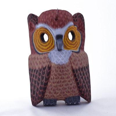 Eleazar Morales Eleazar Morales: Owl Wall Mask Birds