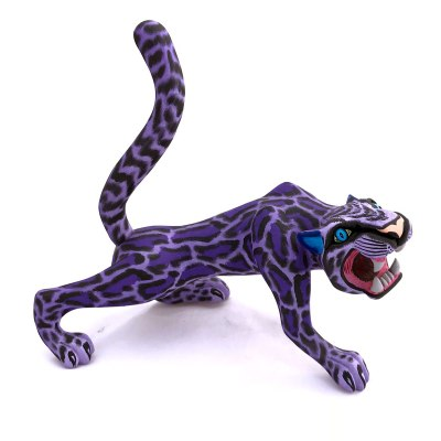 Eleazar Morales Eleazar Morales: Purple Ocelot Cats