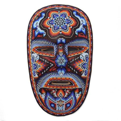 Tucson Lifestyle Feature Large Beaded Mask Beaded