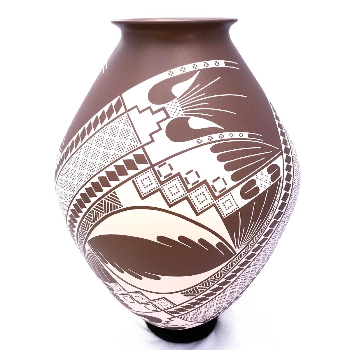 Adrian Rojas Adrian Rojas: Rare Collector Pot Mata Ortiz Pottery