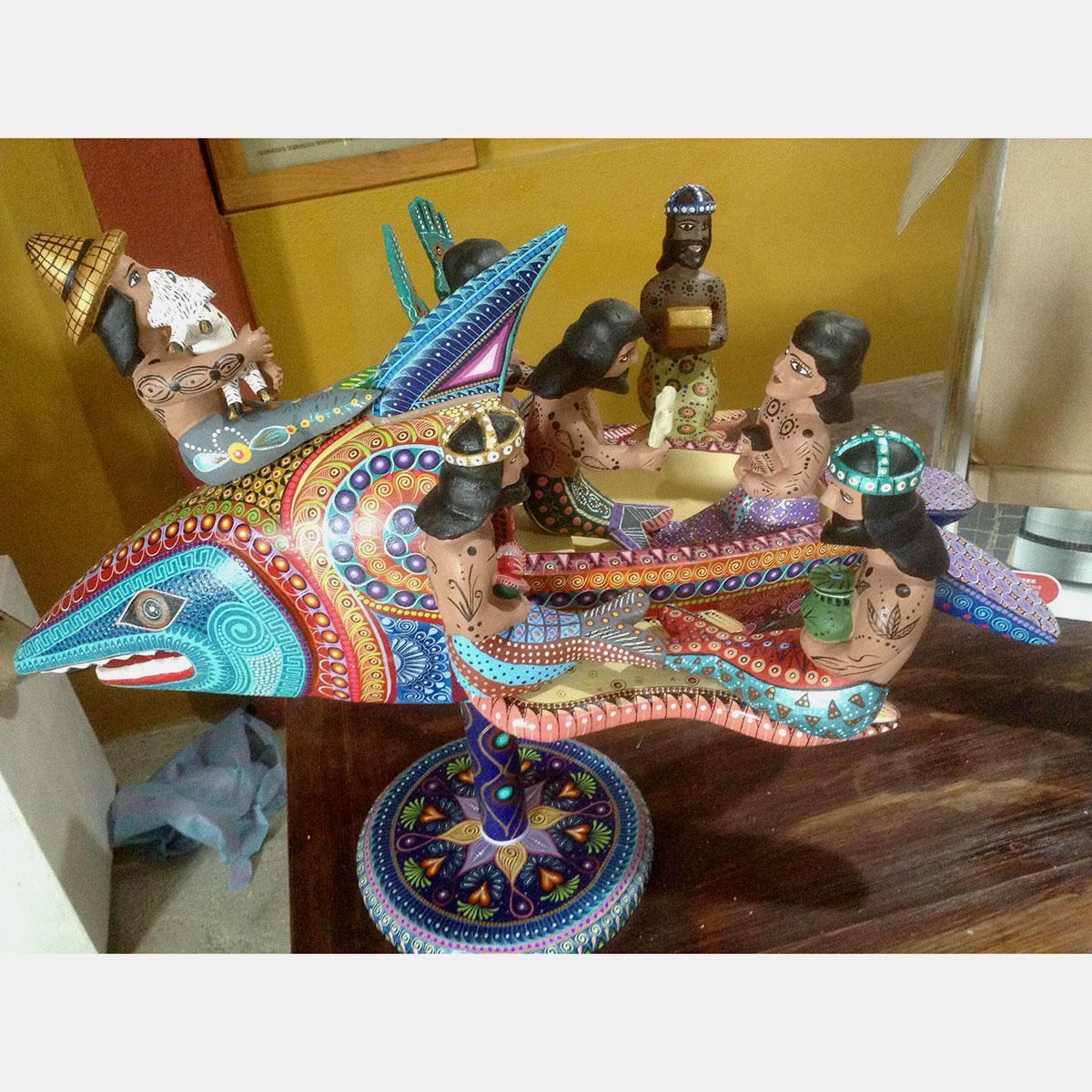 Agustín Cruz Tinoco Agustín Cruz Tinoco: Premier Shark Nativity – Available Direct From Oaxaca [tag]