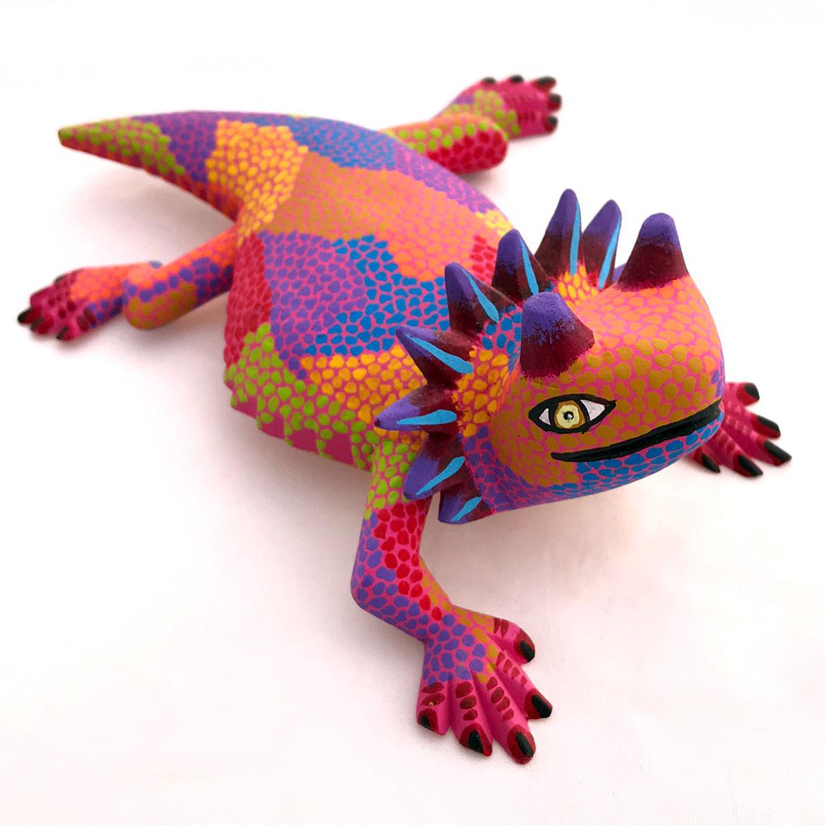 Eleazar Morales Eleazar Morales: Small Horned Lizard Eleazar Morales
