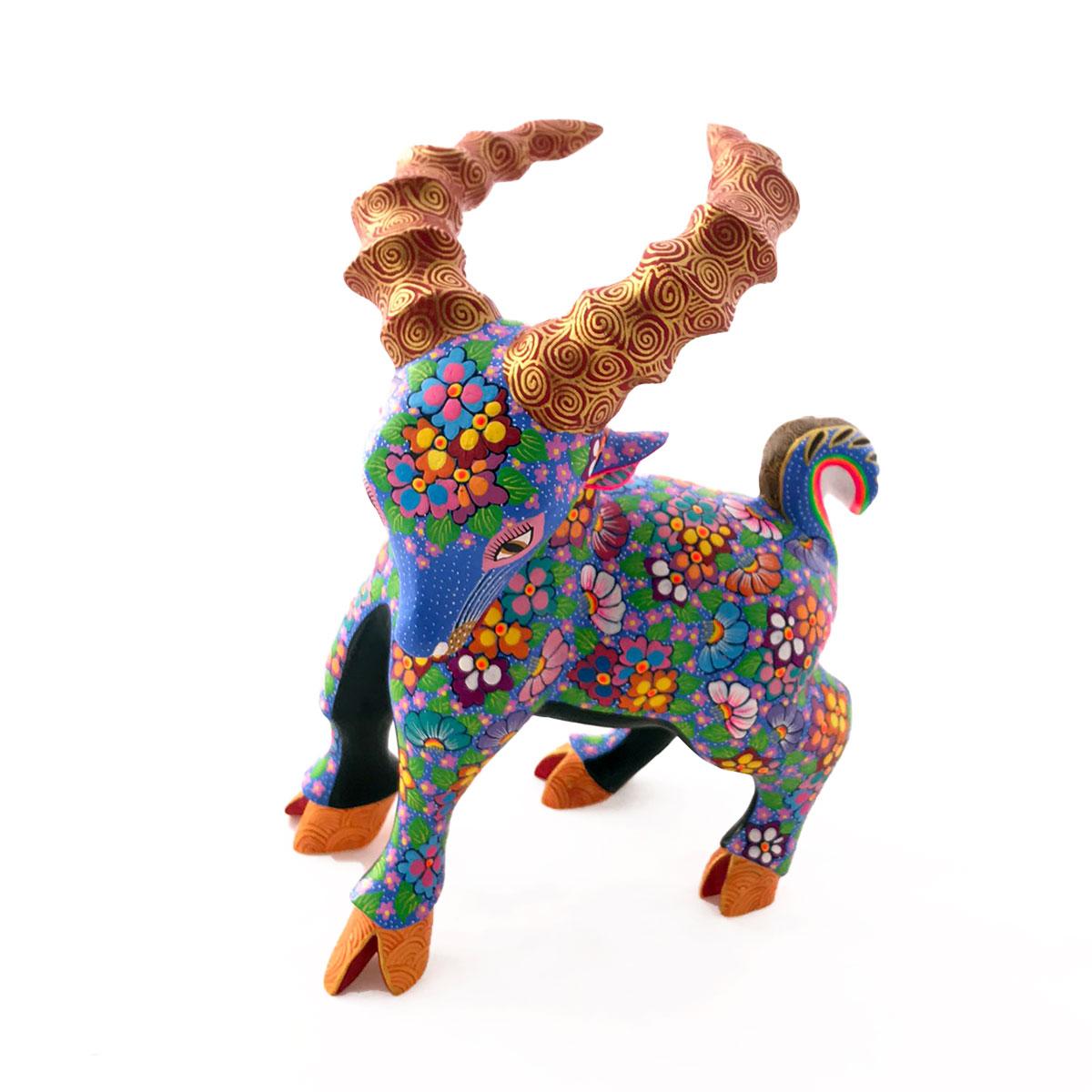 Maria Jimenez Maria Jimenez Ojeda: Floral Goat Goats