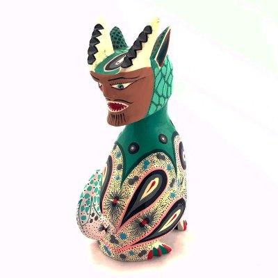 Jose Alfonso Luna Jose Alfonso Luna: Older Nahual Figure Carving Fantasy