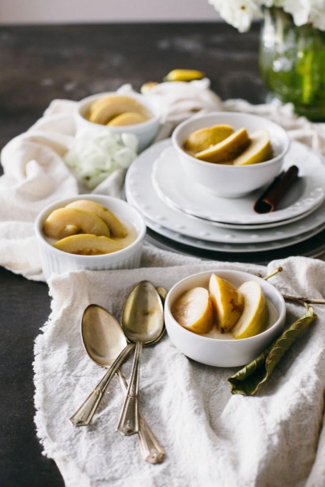 Poached Guava Coconut Panna Cotta | Cultural Chromatics-5