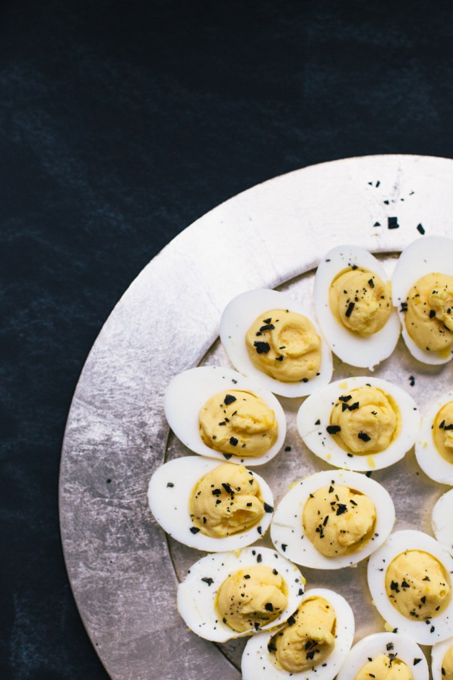 truffled deviled eggs | cultural chromatics-6