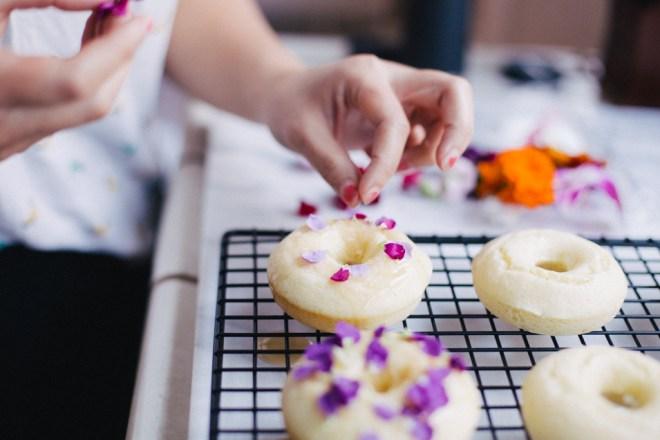 Floral Churro Donuts | Cultural Chromatics-5
