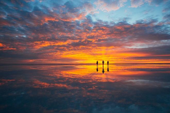 Bonneville Salt Flats sunrise ©NanetteWong