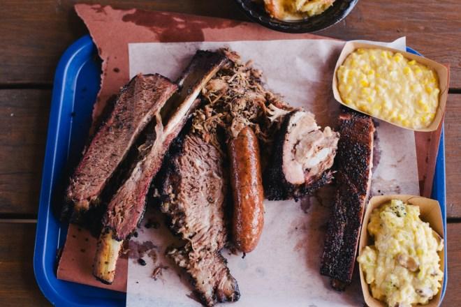 Killen's BBQ beef rib, pork ribs, sausage, pulled pork, brisket